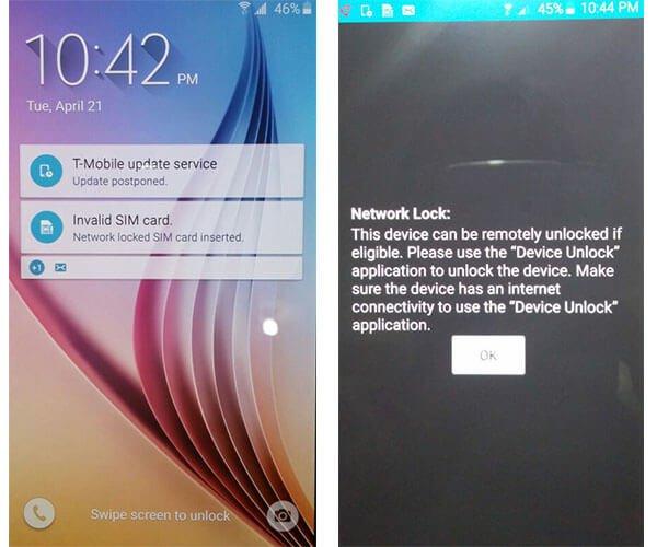 אפליקציה החוסמת פתיחת מכשירי סלולר חדשים שנקנו מT-Mobile ארה